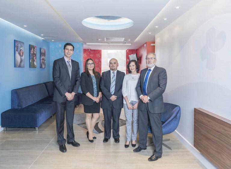 El equipo de doctores especialistas en pediatría del CENPEIN