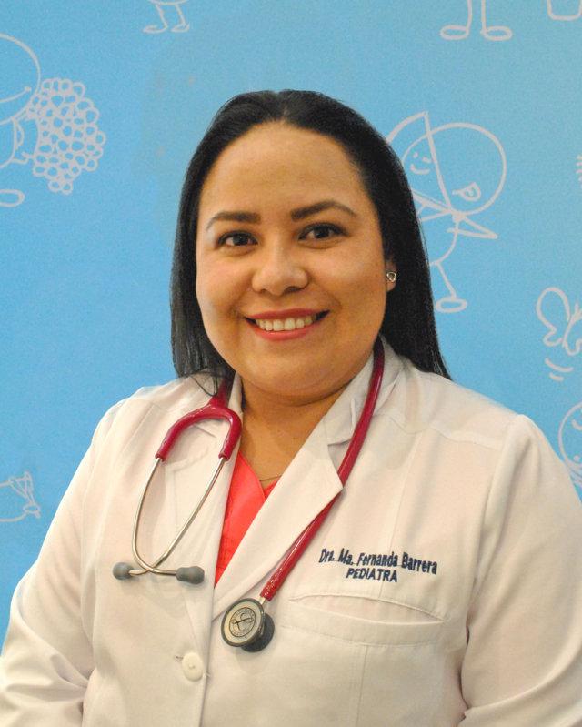 Dra. María Fernanda Barrera